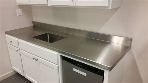 Unfinished Furniture Kitchen Island - stainless steel countertops custom metal home