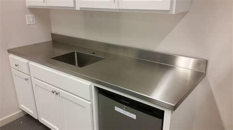 Stainless Steel Countertops ? Custom Metal Home
