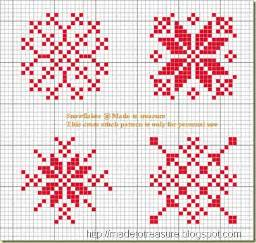 made to treasure snowflakes ornaments for christmas