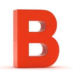 B Letter Grade