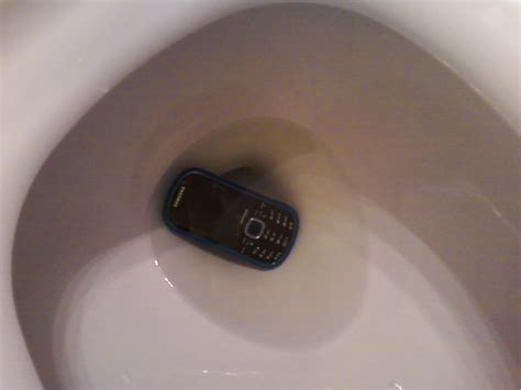 phone fell in toilet the theology a cell phone in the toilet and