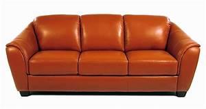 orange leather sofa burnt orange leather sofa dark With orange leather sofa