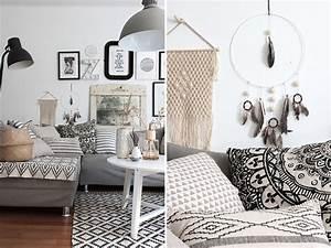Boho Style Wohnen : wohnzimmer im boho look mit diy traumf nger sch n bei ~ Kayakingforconservation.com Haus und Dekorationen