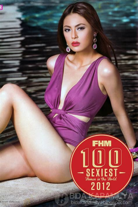 Sam Pinto Tops Fhm Sexiest Women In The World 2012 List