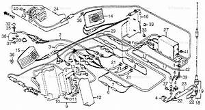 Honda Motorcycle 1983 Oem Parts Diagram For Radio
