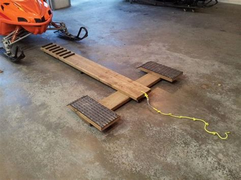 image result  snowmobile dolly ice fishing diy cool