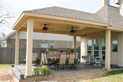 16 By 20 Patio Cover + Outdoor Kitchen  Hhi Patio Covers
