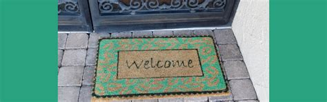 Green Welcome Mat by Rolling Out The Welcome Mat To International Visitors