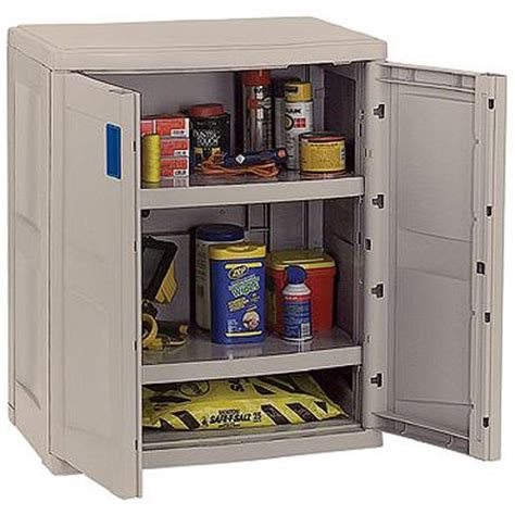 Plastic Garage Storage Cabinets by Resin Storage Cabinet In Storage Cabinets