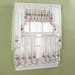 amazon com gisela rose kitchen curtains valance