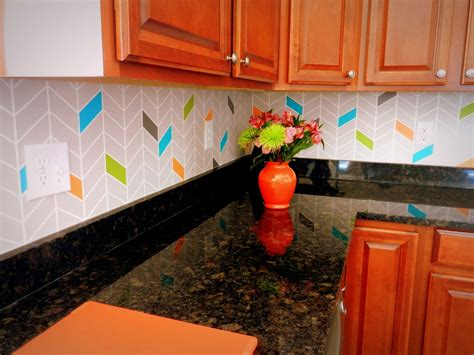 colorful kitchen backsplash 13 kitchen backsplash ideas that aren 39 t tile