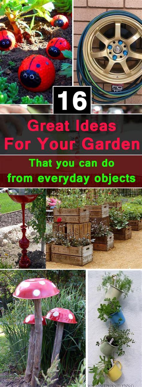 great ideas  garden      everyday