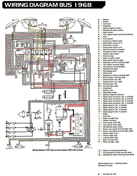 Volkswagen Wiring For 1969 by Volkswagen Wiring Diagram Wiring Library