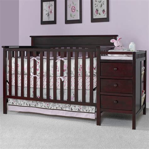 graco 4 in 1 convertible crib and changer combo