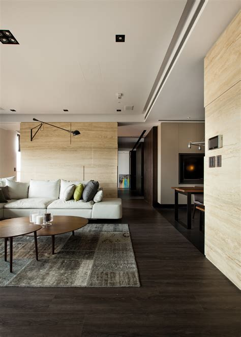 Modern Asian Interior With Natural Materials