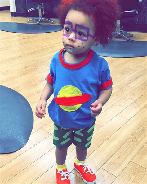 hand made a chuckie finster from rugrats costume