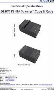 Desko P43cube1 Passport Scanner User Manual