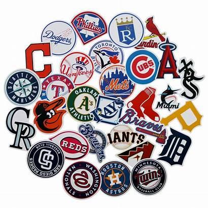 Mlb Team Baseball Science Logos Card League