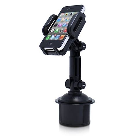 satechi s cup holder mount keeps your and iphone