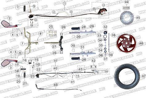 roketa 250 scooter wiring diagram wiring diagram and