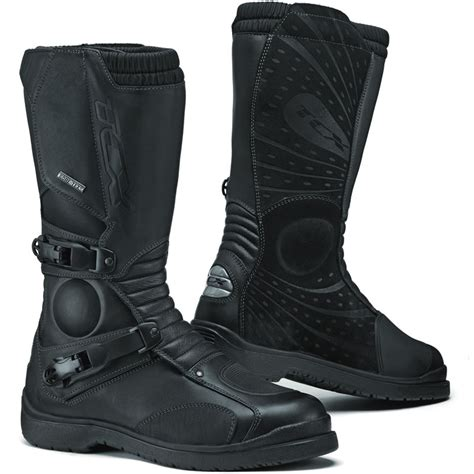 waterproof motorcycle touring boots tcx infinity gtx gore tex adventure touring bike