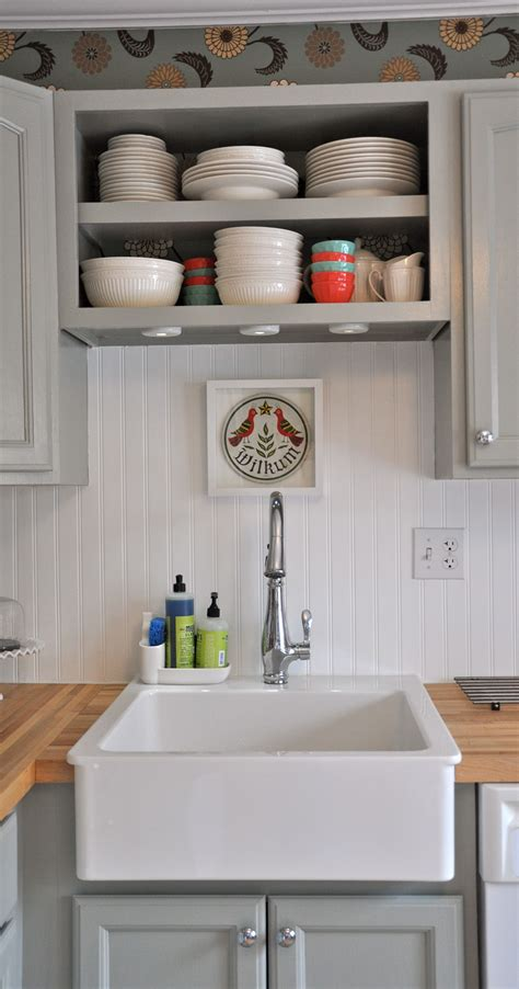 kitchen ideas backsplash pictures beadboard backsplash big sink mrs meyers i that 4943