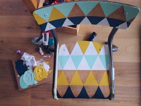customiser une chaise les 25 meilleures idées concernant chaises d 39 école sur