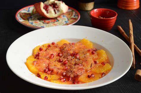 salade d orange dessert salade d oranges et grenade 224 la cannelle