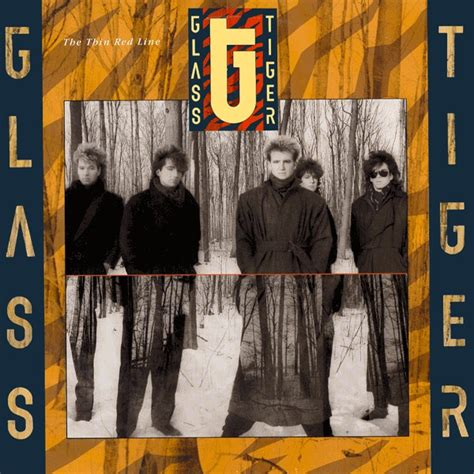 glass tiger  thin red  releases discogs