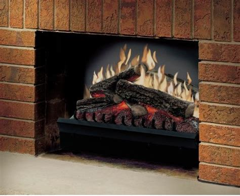 electric log fireplace inserts