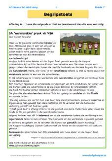 afr gr  images worksheets afrikaans grade