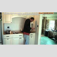 How To Install A Kitchen Island  Youtube