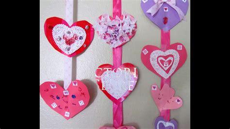 Valentine Heart Mobile Craft