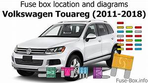 Fuse Box Location And Diagrams  Volkswagen Touareg  2011