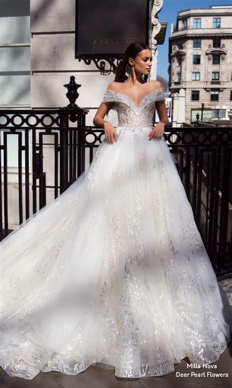 milla nova blooming london wedding dresses  deer