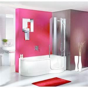 Baignoire Avec Porte Lapeyre : baignoire avec porte vitr e twinline affluence animation ~ Premium-room.com Idées de Décoration