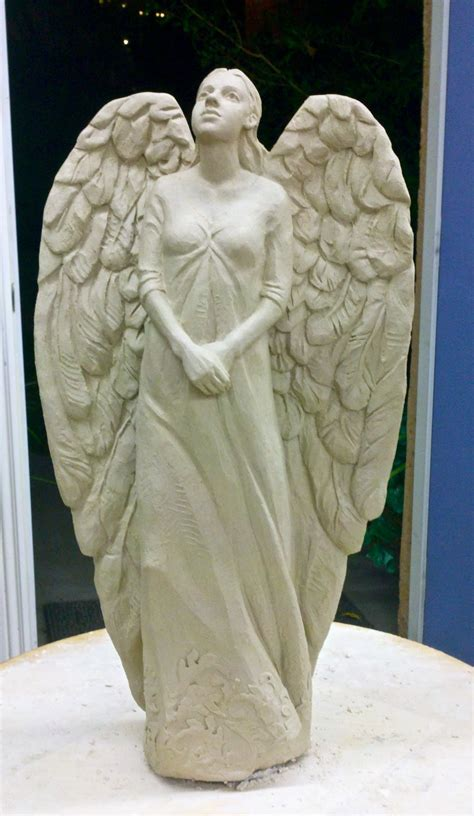 annette whitaker everett finishing  standing angel