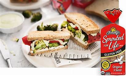 Sandwiches Tofu Broccoli Roasted Sprouted Gluten