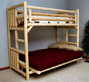 Bunk bed with futon sofa uk thesofa for How to assemble a futon bunk bed