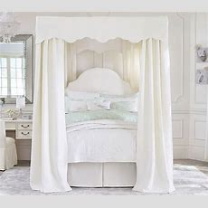 Allie Iron Bed & Canopy  Pottery Barn Kids
