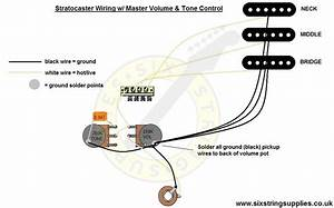 Stratocaster Wiring Diagram Bridge Tone Control
