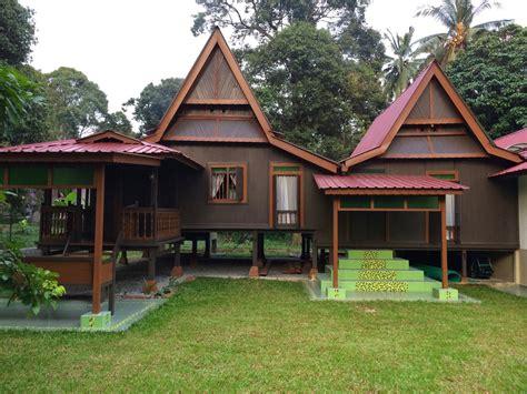 teras rumah kampung sederhana dekorhom