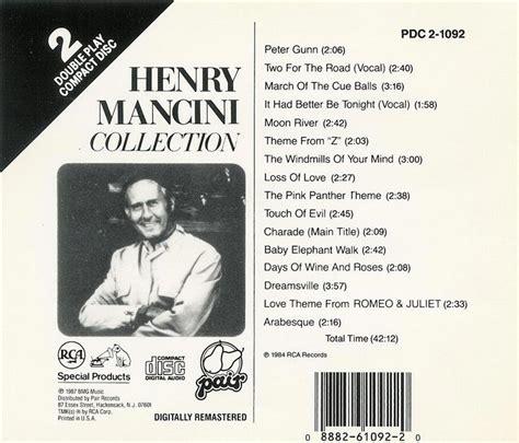 Henry Mancini  Collection  Cd 88826109220 Ebay