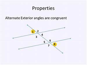 Parallel Lines And Transversals  Simplifying Math