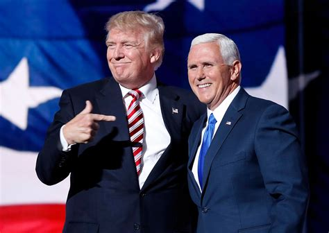 pence trump mike running mate donald bus debate campaign under throws during