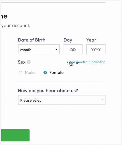 Form Gender Forms Registration Patient Neutral Questions
