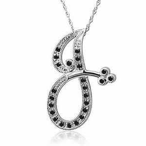 amazoncom 14k white gold alphabet initial letter j black With white gold letter earrings