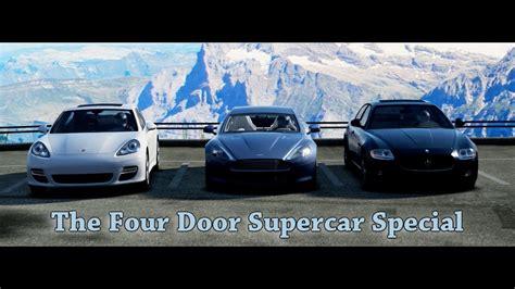 Top Gear 4 Door Supercars forza motorsport 4 battle s2 e7 top gear four door