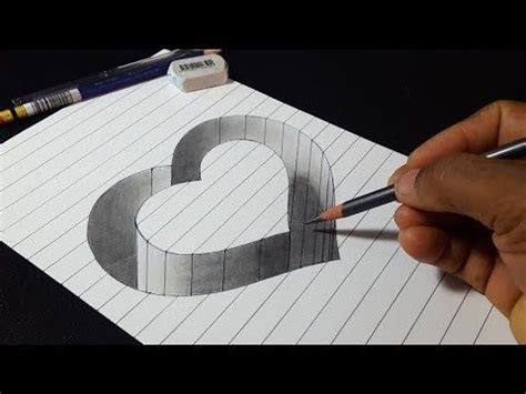 3d Zeichnen by How To Draw 3d Shape Easy Trick Drawing
