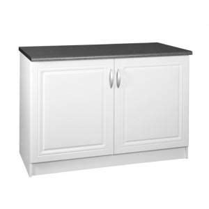 meuble cuisine 110 cm meuble cuisine bas 120 cm 2 portes dina blanc achat